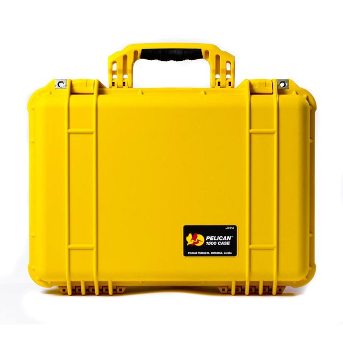 Pelican_1500_Protector_case_yellow_closed